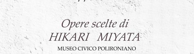 Sabato 8 Ottobre, alle ore 16,30,presso la Biblioteca monastica del Museo civico polironiano, grande evento culturale. Le opere dell'artista Hikari Miyata faranno da cornice al percorso dei quattro ambasciatori giapponesi che nel 1585 hanno visitato il Monastero di Polirone.