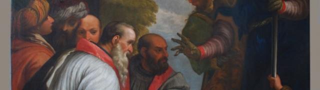 Consacrazione di San Nicola vescovo di Mira
